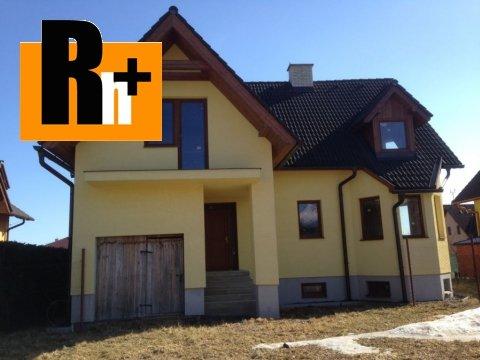 Foto Veľká Lomnica rodinný dom na predaj - novostavba