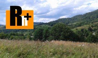 Pozemok pre bývanie na predaj Žilina Terchová - TOP ponuka