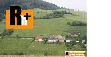 Na predaj Kotrčiná Lúčka pozemok pre komerčnú výstavbu - 3464m2