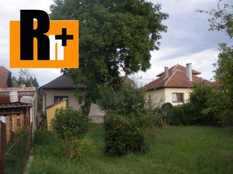 Foto Rodinný dom Sučany na predaj - tehlová stavba