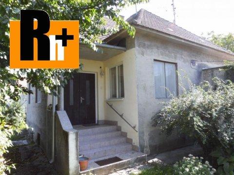 Foto Na predaj rodinný dom Dlhá nad Váhom - s garážou