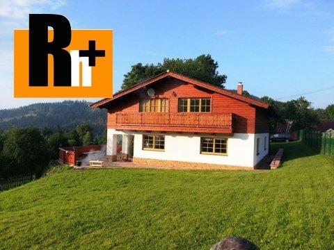 Foto Na predaj rodinný dom Oščadnica Luxusný - znížená cena o 15000€