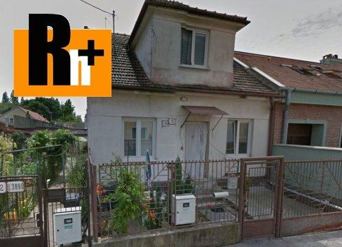 Foto Na predaj rodinný dom Bratislava-Ružinov Bieliková