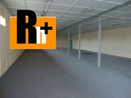 Na prenájom Trenčín Zlatovská skladovacie priestory - znížená cena
