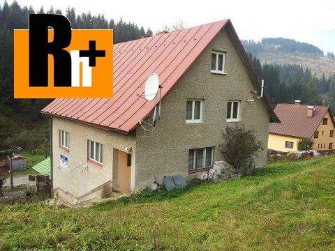 Foto Na predaj rodinný dom Čadca Rieka v blízkosti lyžiarského strediska - 2545m2