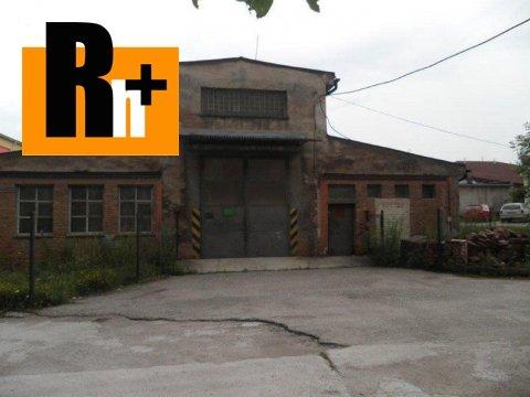 Foto Na predaj Žilina širšie centrum Bytčická výrobné priestory - TOP ponuka
