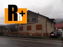 Na predaj Krásno nad Kysucou pozemok 1232m2 rodinný dom - TOP ponuka