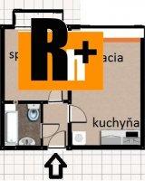 Na predaj Bratislava-Rača Pekná cesta 2 izbový byt - s balkónom