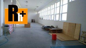 Výrobné priestory na prenájom Trenčín Bratislavská - zrekonštruovaný