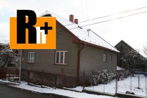 Tvrdošín rodinný dom na predaj - TOP ponuka