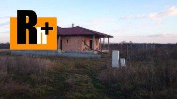 Na predaj rodinný dom Šenkvice Kozáre - TOP ponuka