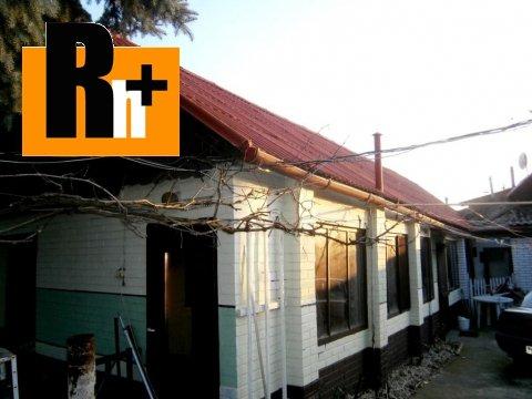 Foto Na predaj rodinný dom Hlohovec Dukelská - ihneď obývateľný
