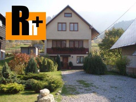Foto Terchová Vyšné Kamence rodinný dom na predaj - zrekonštruovaný