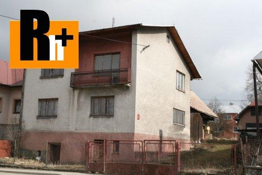 Foto Rodinný dom na predaj Zubrohlava