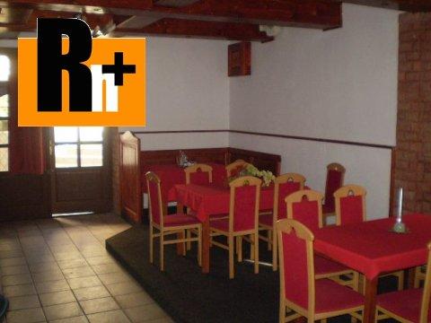 Foto Reštaurácia Trenčín Sihoť blízko centra na predaj -