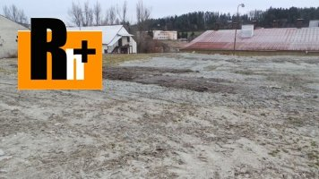 Na predaj Hôrky Hôrecká cesta pozemok pre komerčnú výstavbu