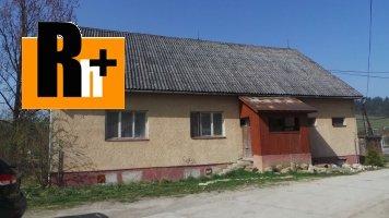 Ovčiarsko Dvory vidiecky dom na predaj