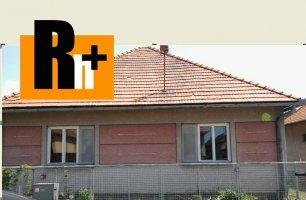 Nemčiňany na predaj rodinný dom - znížená cena