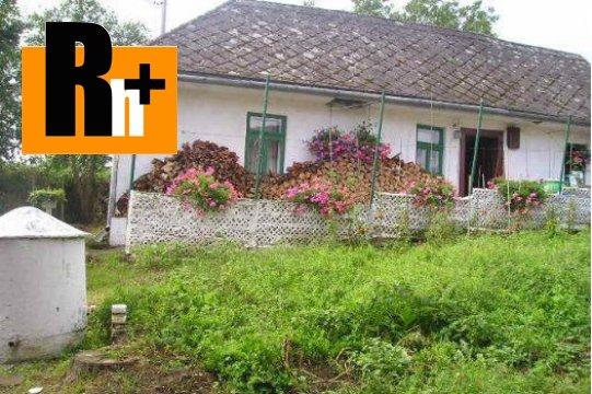 Foto Na predaj vidiecky dom Košice-Košická Nová Ves - s garážou