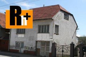 Na predaj rodinný dom Tvrdošín - osobné vlastníctvo