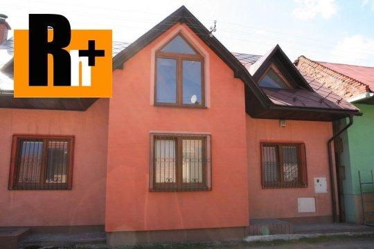 Foto Tvrdošín na predaj rodinný dom - čiastočne prerobený