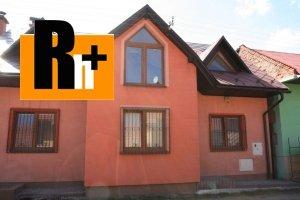 Tvrdošín na predaj rodinný dom - čiastočne prerobený