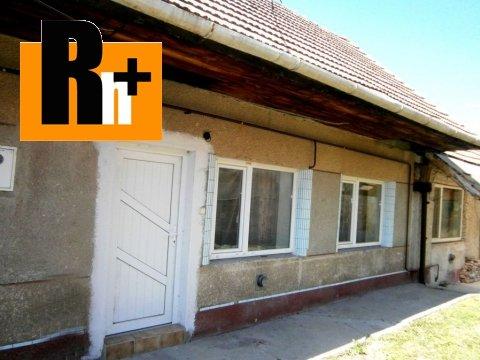 Foto Hlohovec Šulekova na predaj rodinný dom - čiastočne prerobený