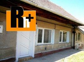 Hlohovec Šulekova na predaj rodinný dom - čiastočne prerobený