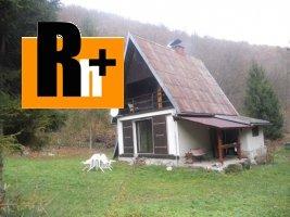 Na predaj chata Veľký Folkmar .