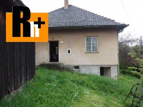 Foto Vidiecky dom Jakubovany tichá na predaj
