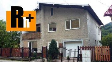Dobšiná rodinný dom na predaj - ihneď obývateľný