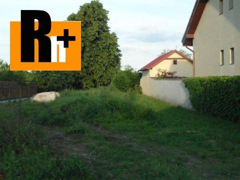 Foto Žlkovce pozemok pre bývanie na predaj - exkluzívne v Rh+
