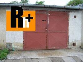 Levoča Za Texonom na predaj garáž hromadná
