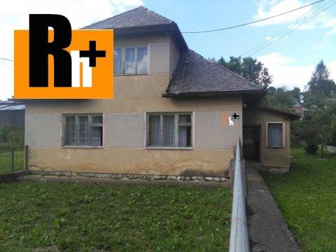 Foto Rodinný dom Turčianske Jaseno na predaj - TOP ponuka