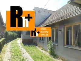 Dubnica nad Váhom Prejta rodinný dom na predaj - TOP ponuka