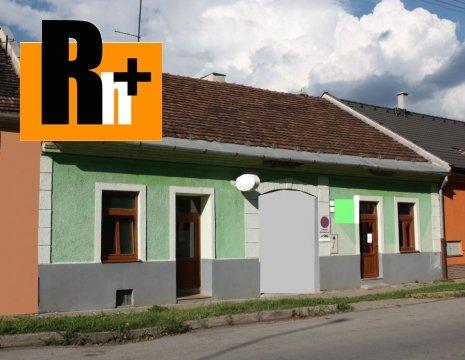 Foto Na predaj rodinný dom Spišská Nová Ves centrum