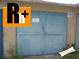 Na predaj Tvrdošín garáž jednotlivá - TOP ponuka