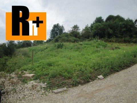 Foto Na predaj Kotešová Oblazov pozemok pre bývanie - rezervované