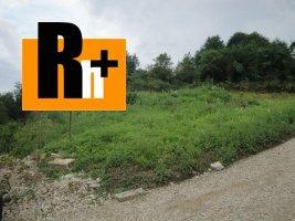 Na predaj Kotešová Oblazov pozemok pre bývanie - znížená cena