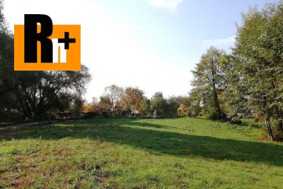 Na predaj pozemok pre bývanie Bojnice od 500 m2 -