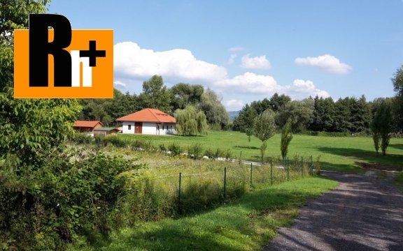 Foto Na predaj iný objekt na bývanie a rekreáciu Bojnice s veľkým pozemkom - 1450m2