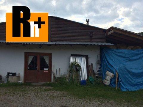 Foto Poľnohospodárke objekty na predaj Vyšný Kubín - TOP ponuka