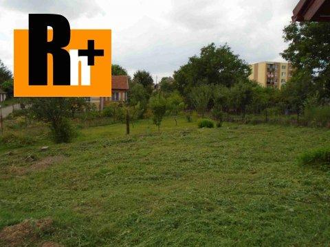 Foto Na predaj záhrada Blesovce hlavna -