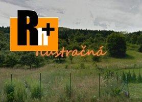 Na predaj trvalý trávnatý porast Žilina Strážov - 2443m2