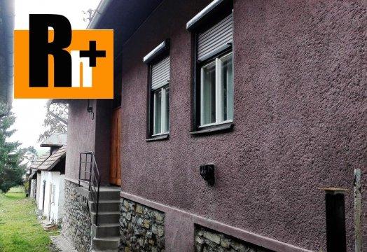 Foto Na predaj rodinný dom Štrba alebo chalupa
