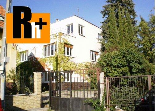 Foto Bratislava-Nové Mesto Vidlicová na predaj rodinná vila - TOP ponuka