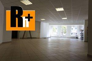 Obchodné priestory na prenájom Ružomberok - TOP ponuka