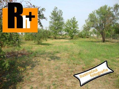 Foto Zastavané plochy a nádvoria na predaj Bidovce -