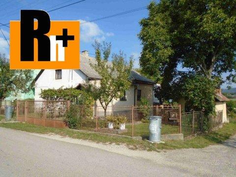 Foto Na predaj vidiecky dom Neporadza - exkluzívne v Rh+