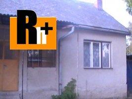 Na predaj rodinný dom Bolešov - TOP ponuka